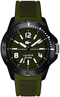 Lacoste 2010715 Fidji Green Silicone Strap Men's Watch