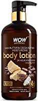 WOW Skin Science Shea & Cocoa Butter Body Lotion 400 ML