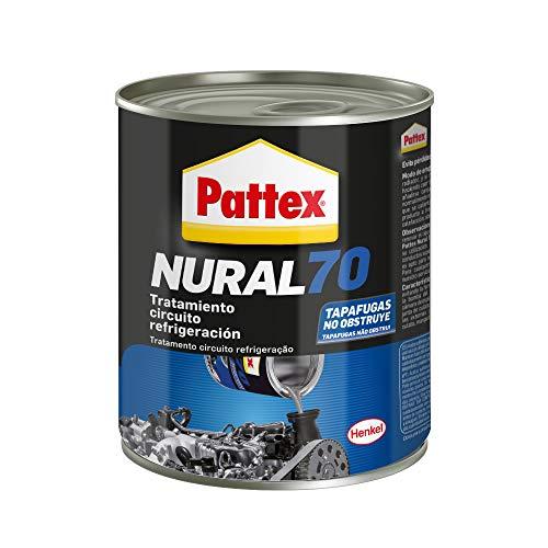 Pattex Nural 70 Tratamiento circuito refrigeración, tapafugas para radiadores, protector de fugas para evitar pérdidas de agua y sobrecalentamiento del motor, 1 x 8 l