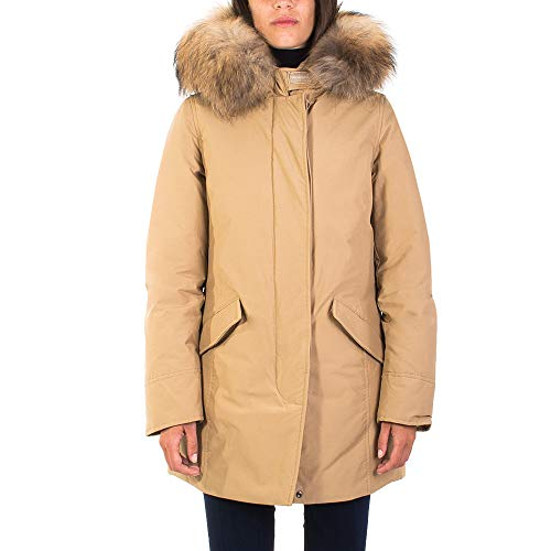 Woolrich Parka WWCPS2762 Gold Khaki Size:S