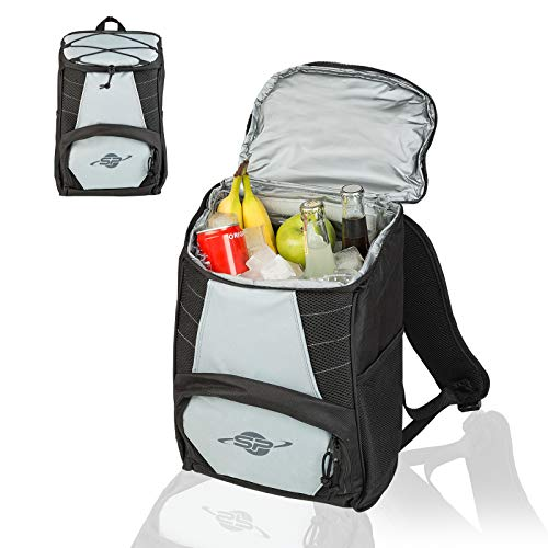 Smart-Planet Mochila refrigeradora - compacta bolsa isotérmica impermeable - Mochila térmica pequeña - Senderismo, camping, picnic, nevera portátil para alimentos al aire libre
