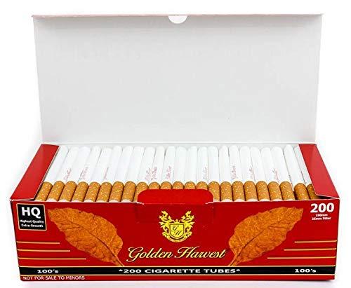 Golden Harvest Cigarette Filter Tubes - Red -...