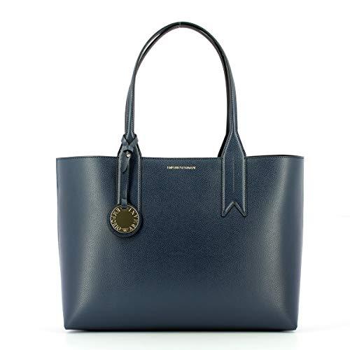 Emporio Armani Tasche BAGHEATHEREDB Damen Blau schwarz - Y3D081-YH15A-88293