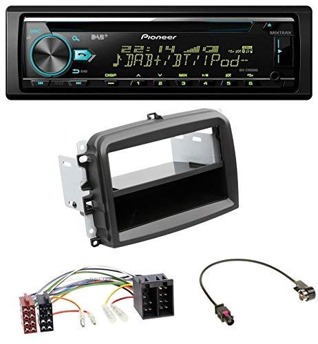 caraudio24 Pioneer DEH-X7800DAB DAB MP3 CD USB Bluetooth Autoradio für FIAT 500L (mit ISO, ab 2012)