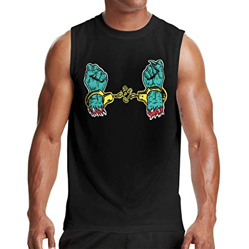 Run The Jewels Bust No Moves Men's Athletic Sleeveless T Shirts Summer Muscle Tank Vest Gift