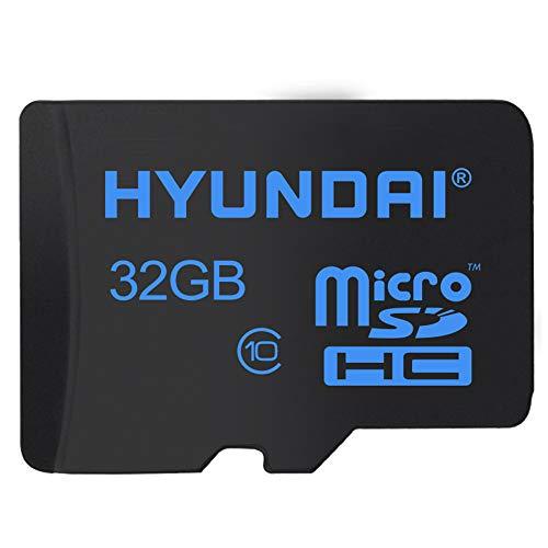 Hyundai Memoria MicroSD con SD Adaptador Class 10/UHS-I (U1) (32 GB)
