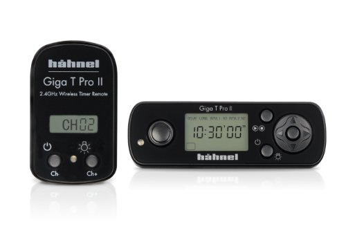 Hähnel Giga T Pro II Funk-Fernauslöser für Canon D-SLR 600D / 550D / 500D / 450D / 400D / 350D / 60D / 50D / 40D / 30D / 20D / 10D / 7D / 5D Mark II / 1D / 1Ds und Pentax SLR