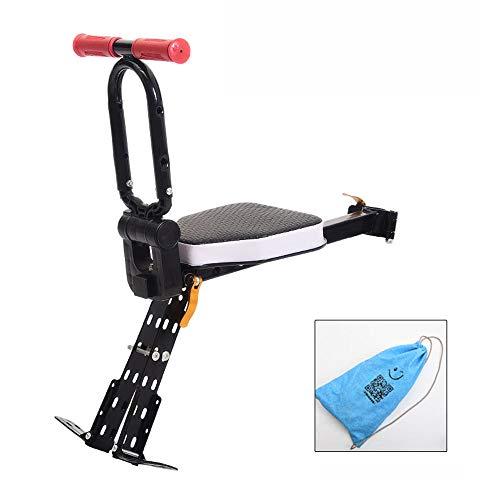 Kinderfahrradsitz, Klappbarer Kindersitz Mit Pedal Kindersitz Sicherheitssitz Fahrrad für Mountainbike/Heimtrainer,C