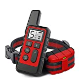 TOCESS Dog Training Collar, Rechargeable Dog Shock Collar with Remote, 1640Ft Remote Range and Waterproof, 3 Training Modes Beep, Vibration, Shock for Small Medium Large Dogs