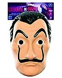 Máscara de Robo de Dinero Oficial |Máscara de Dalí |Máscara de Salvador Dalí |Traje |Halloween |Carnaval |Fiesta de Disfraces con temática de ladrón |Theif |Ladrón |OriginalCup®