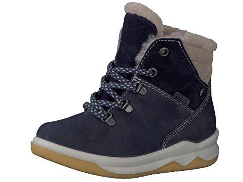 RICOSTA Pepino Jungen Winterstiefel Toni, WMS: Mittel, wasserfest, leger Winter-Boots Outdoor-Kinderschuhe gefüttert,See/Nautic,31 EU / 12 UK