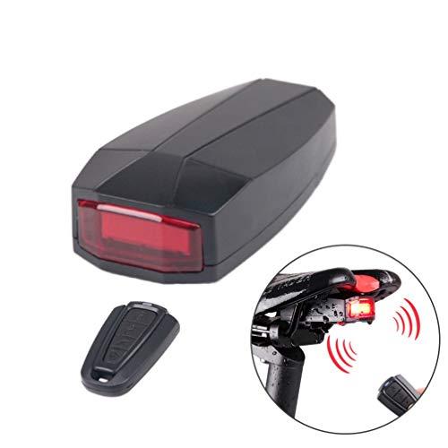 BESPORTBLE Luces de Bicicleta A6 USB Recargables Impermeables Portátiles Bicicletas Luces Traseras Control de Llave Linterna Trasera LED para Bicicleta de Montaña