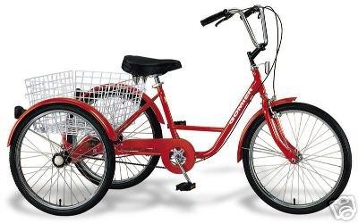 Dreirad 24 Zoll Fahrrad Behindertenfahrrad Therapierad mit Shimano Nexus 3-Gang Schaltung