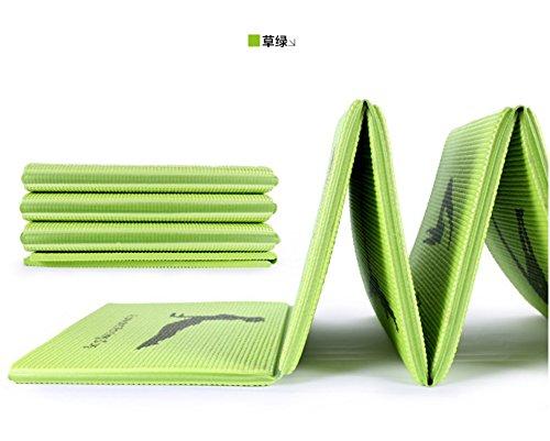 YROAR 8mm (Principianti) materassino Yoga Principianti Addensato allargamento tappetini Sportivi-Yoga Mat e insapore Viaggi di slittamento/173cmx61cm
