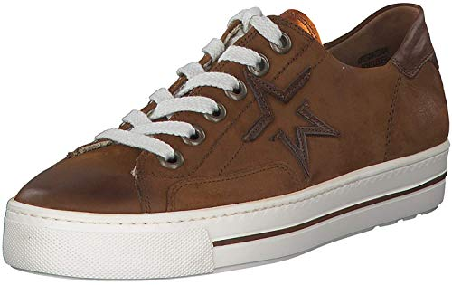 Paul Green 4810 Damen Sneakers Cognac, EU 39