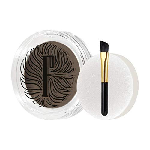 Fidentia Eyebrow Thickener   Augenbrauenpuder für natürlich dichtere Augenbrauen   Alternative zu Augenbrauenfarbe (Dunkelbraun)