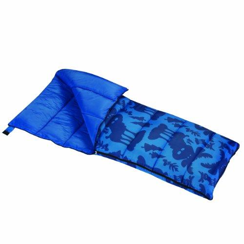 Wenzel Moose 40 Degree Sleeping Bag Sacos de Dormir y cunas, Unisex Adulto, Azul-Azul, S