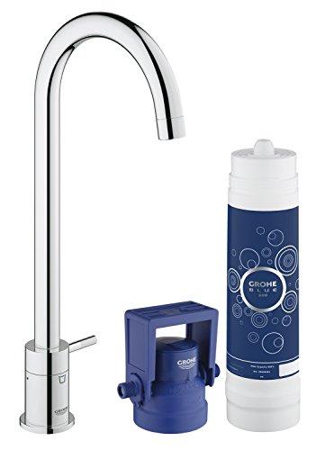 GROHE Blue Mono Pure Küchenarmatur mit Filterfunktion 31301001
