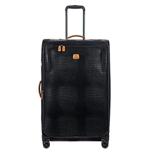 Bric's Milano 28' My Safari Expandable Spinner Black/Cognac One Size