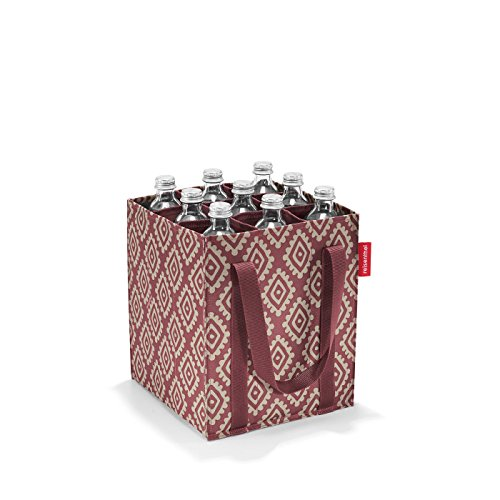 reisenthel bottlebag Flaschentasche 9 Fächer - 24 x 28 x 24 cm diamonds rouge