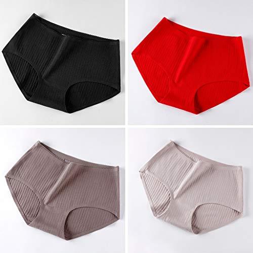 WENLI Braguitas CóModas para Mujer Panties Sin Fisuras Ropa
