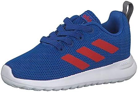 Adidas Lite Racer CLN I, Zapatillas de Estar por casa Unisex niños, Multicolor (Azul/Rojact/Gritre 000), 22 EU