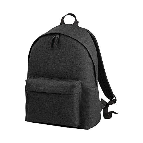 BagBase Rucksack Two Tone Fashion, 18 Liter (Einheitsgröße) (Anthrazit)