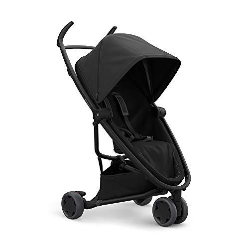 Quinny Zapp Flex Stylischer Komfort-Drei Räder Buggy, mit vielen Extras, leicht, kompakt faltbar, ab der Geburt nutzbar, schwarz