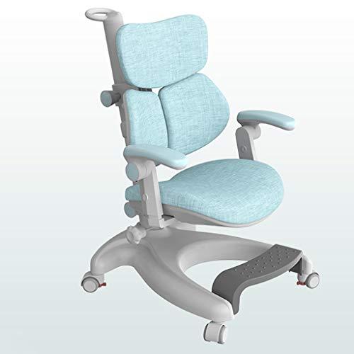 correctie van de zithouding, ergonomische stoel, bureau en kinderen, bureaustoel, kan worden aangepast om de wervelkolom in huis te beschermen, dubbele gebruiksdoeleinden.