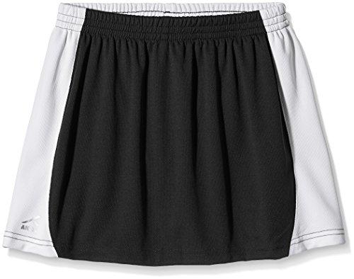 Trutex Sector Skort Skirt, Falda De Deporte Niñas, Negro (Black/White), X-Large