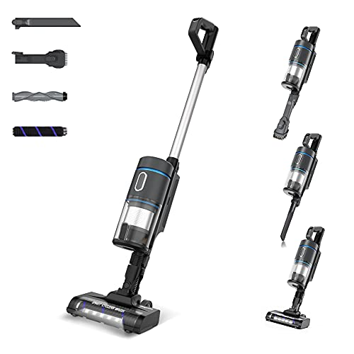 Cordless Vacuum Cleaner, Bagotte 25KPa 230W Powerful Suction...
