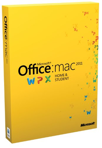 Microsoft Office Mac Home Student Family Pack 2011 deutsch [import allemand]
