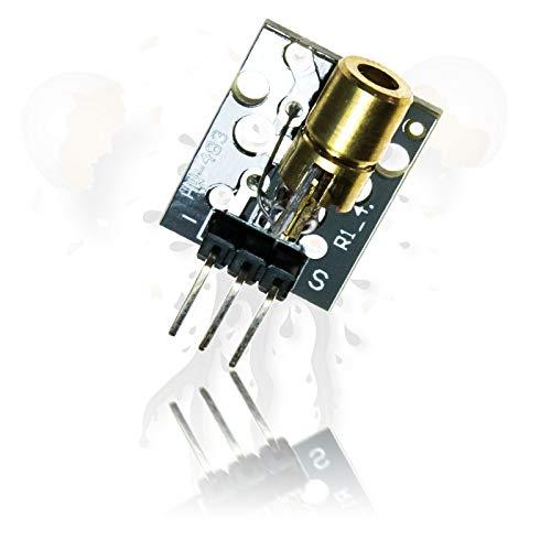 5V Laser Modul 5mW 650nm NIR nahes Infrarot ESP8266 Arduino Raspberry Pi