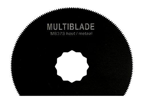 Multiblade SuperCut Bimetall-Sägeblatt 80mm (Holz, Metall, Kupfer, Aluminium, Nägel, PVC, Kunststoff) MB37S