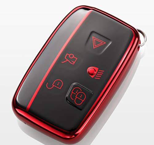 Bester der welt Umfassender Schutz kompatibel mit der 5-Tasten-Keilay-Schlüsseletui-Software TPU Land Rover…