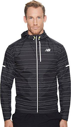 New Balance Mens Reflective Lite Packable Jacket