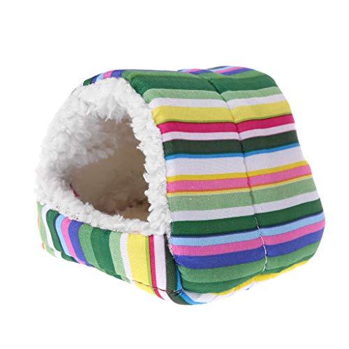 Qiman Fleece Hamsterkäfig Meerschweinchen Schlafmatte Bett Warm Pad Kleintierhaus (1)