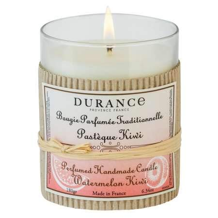 DURANCE Bougie Parfumée Pastèque Kiwi