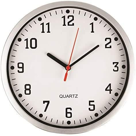 """D.A.Y. Republic Large Stylish Wall Clock 23cm 9"""" Quartz Clock, Easy..."""