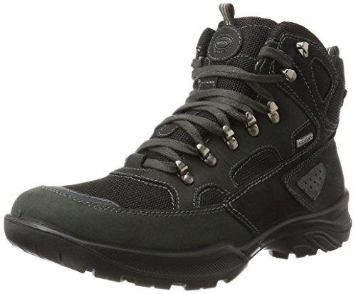 Jomos Herren Adventure Chukka Boots, Mehrfarbig (Schwarz/Jeans), 48 EU