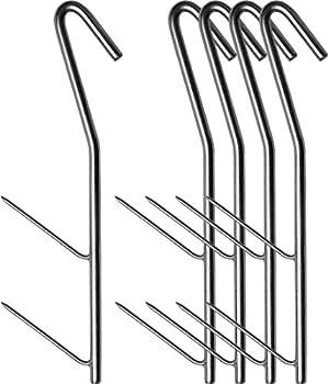Encens galvanisée Lot de 5?25crochets Longueur env. 17,5cm, Verzinkt 5 Stück