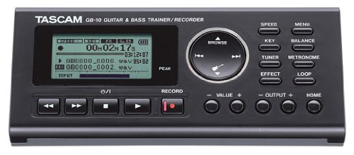 Tascam GB-10 Guitar/Bass Trainer With Recorder