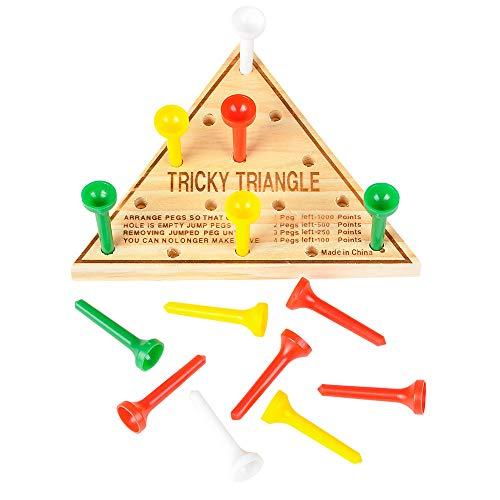 U.S. Toy Tricky Triangle Game - Travel Games, Assorted, MU845