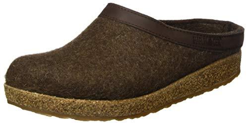 Haflinger Unisex-Erwachsene Grizzly Torben Pantoffeln, Braun (Schoko 552), 45 EU