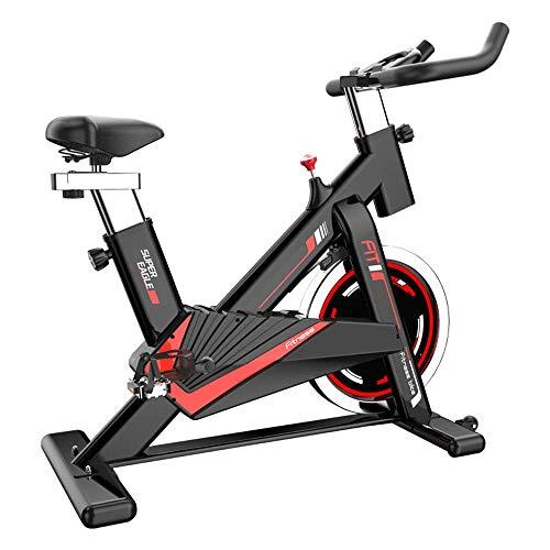 YANGSANJIN Spinning Bike Home Mute Equipo de pérdida de Peso Control magnético Bicicleta estática Aerobic Entrenamiento Interior Pedal Bicicleta App teléfono Inteligente connectFitness Motion