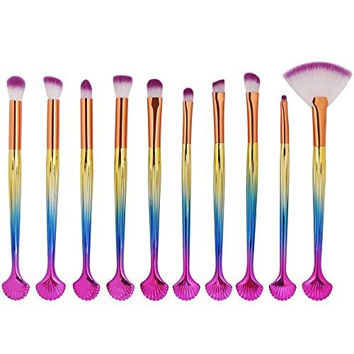 Set de pinceaux pour les yeux - Meilleur choix 10 pièces essentielles - Shader, Meilleur maquillage,A