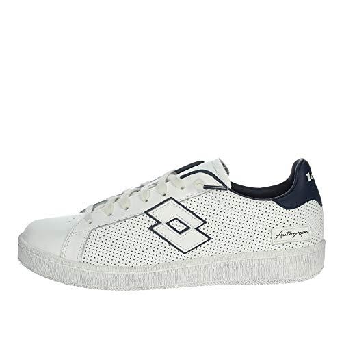 Lotto 214021 - Zapatillas deportivas con cordones de piel para hombre Size: 40