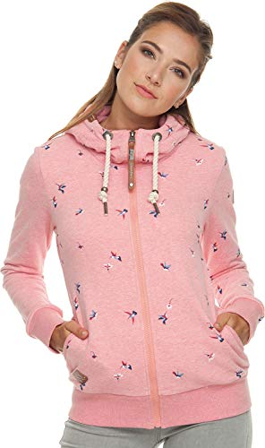 Ragwear Damen Sweatshirt Angel Zip