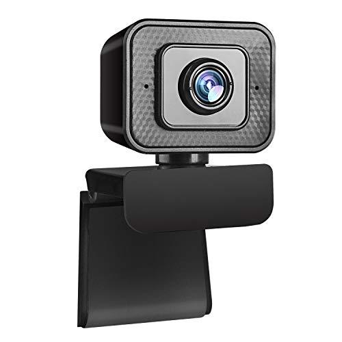 MODKON 1080P Webcam per PC con Microfono, Full HD Web Camera USB Webcam Videocamera per Videochiamate, Studio, Conferenza, Registrazione,Studi.