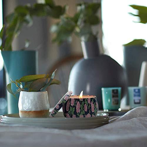 SCENTORINIアロマキャンドル香り付きキャンドルギフトセット、100%天然大豆の香り付きキャンドル、4種類のキャンドルフレグランスおしゃれ結婚式、誕生日、晚会ロマンチックな部屋の装飾品あいさつのカード付き友人、家族、恋人へのギフト。